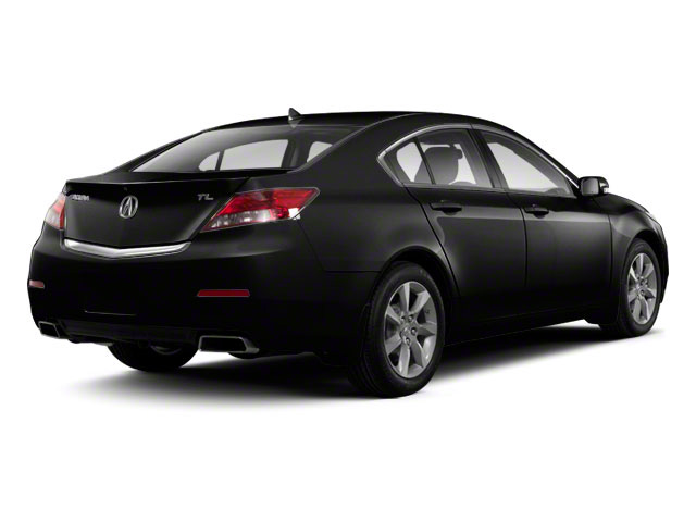 Crystal Black Pearl 2012 Acura TL Pictures TL Sedan 4D Advance photos rear view
