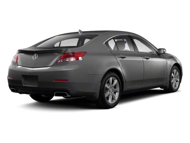 Graphite Luster Metallic 2012 Acura TL Pictures TL Sedan 4D Advance photos rear view