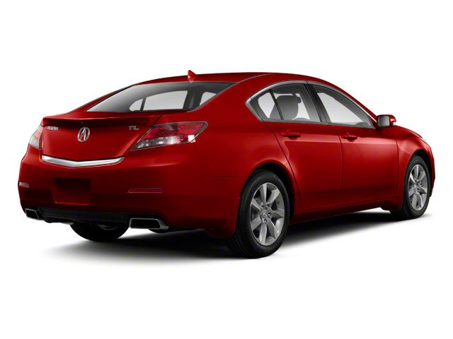 Basque Red Pearl II 2012 Acura TL Pictures TL Sedan 4D Advance photos rear view