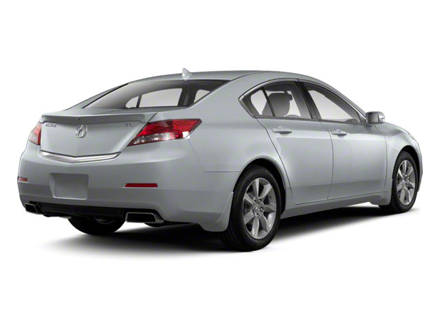 Forged Silver Metallic 2012 Acura TL Pictures TL Sedan 4D Advance photos rear view