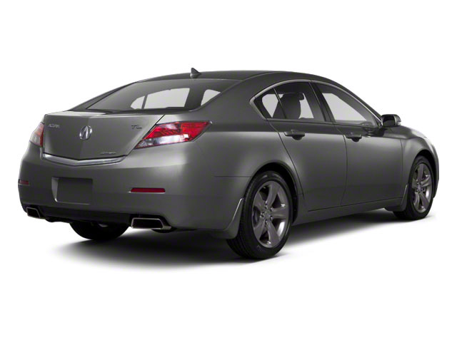 Graphite Luster Metallic 2012 Acura TL Pictures TL Sedan 4D Technology AWD photos rear view
