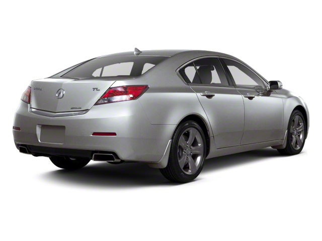 Forged Silver Metallic 2012 Acura TL Pictures TL Sedan 4D Technology AWD photos rear view