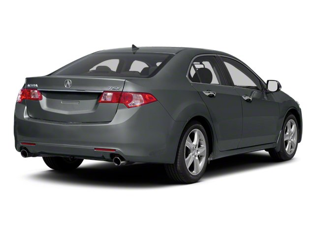 Graphite Luster Metallic 2012 Acura TSX Pictures TSX Sedan 4D photos rear view