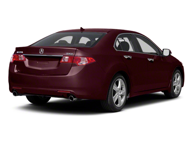 Basque Red Pearl 2012 Acura TSX Pictures TSX Sedan 4D photos rear view