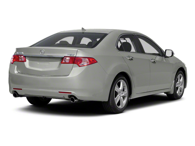 Forged Silver Metallic 2012 Acura TSX Pictures TSX Sedan 4D photos rear view