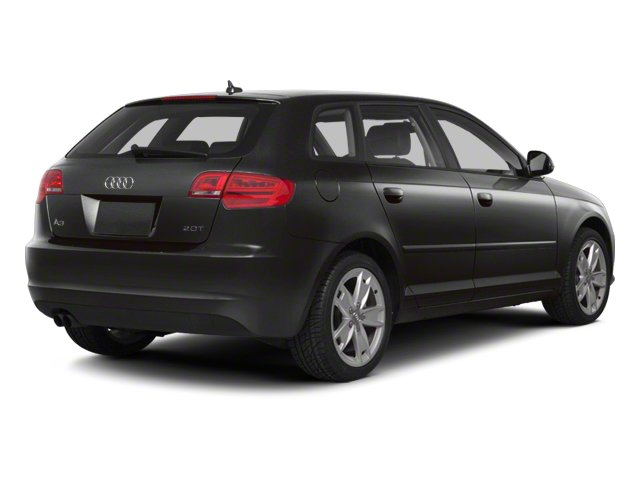 Lava Gray Pearl Effect 2012 Audi A3 Pictures A3 Hatchback 4D 2.0T Quattro photos rear view
