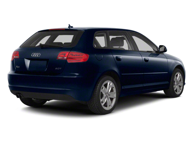 Deep Sea Blue Pearl 2012 Audi A3 Pictures A3 Hatchback 4D 2.0T Quattro photos rear view