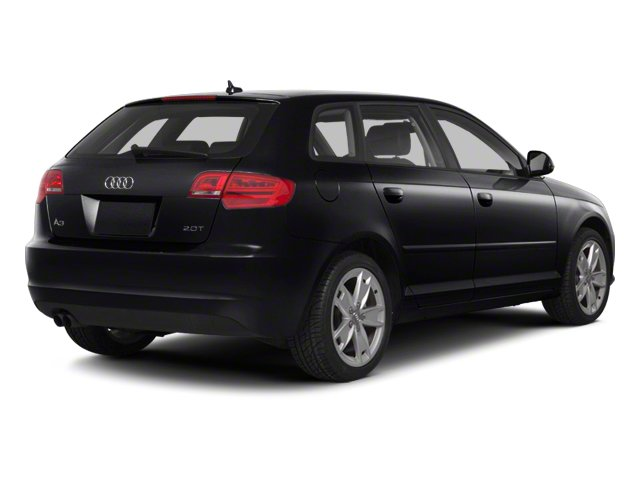 Brilliant Black 2012 Audi A3 Pictures A3 Hatchback 4D 2.0T Quattro photos rear view