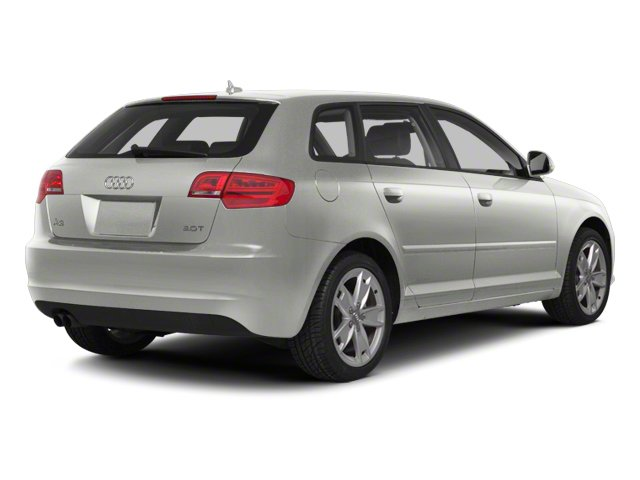 Ice Silver Metallic 2012 Audi A3 Pictures A3 Hatchback 4D 2.0T Quattro photos rear view