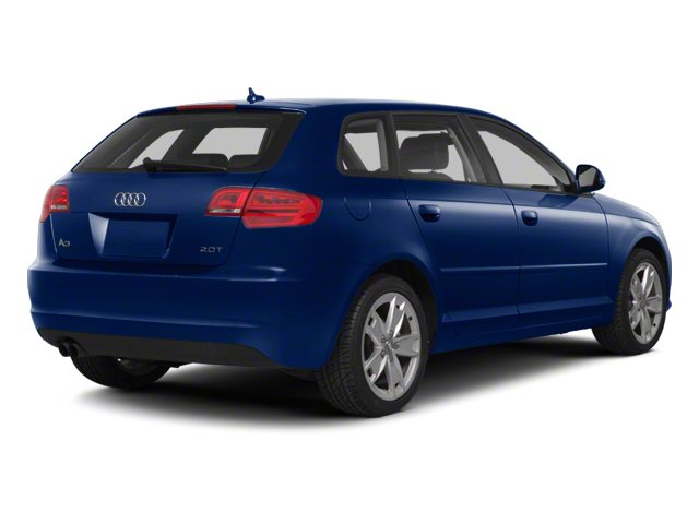 Scuba Blue Metallic 2012 Audi A3 Pictures A3 Hatchback 4D 2.0T Quattro photos rear view