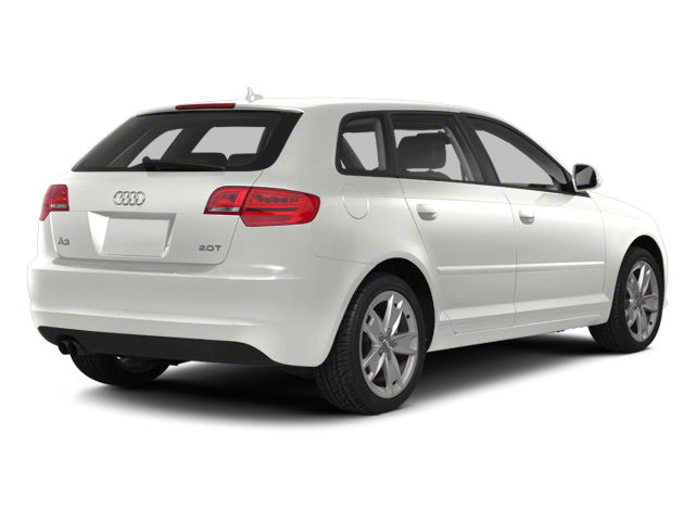 Ibis White 2012 Audi A3 Pictures A3 Hatchback 4D 2.0T Quattro photos rear view