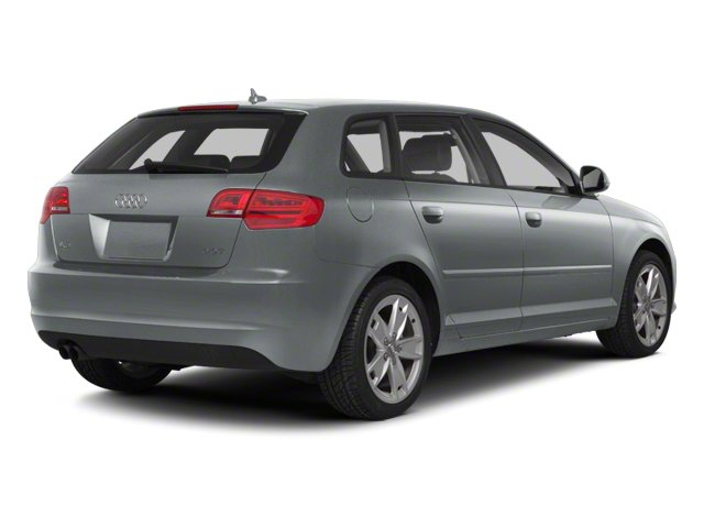 Monza Silver Metallic 2012 Audi A3 Pictures A3 Hatchback 4D 2.0T Quattro photos rear view