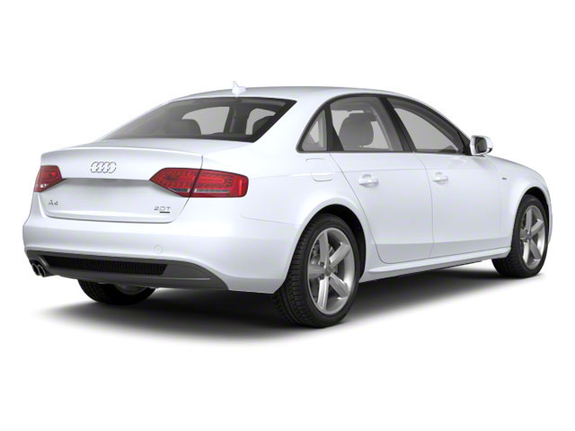 Glacier White Metallic 2012 Audi A4 Pictures A4 Sedan 4D 2.0T Quattro Prestige photos rear view