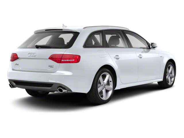 Glacier White Metallic 2012 Audi A4 Pictures A4 Wagon 4D 2.0T Quattro photos rear view