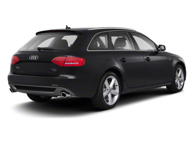 Brilliant Black 2012 Audi A4 Pictures A4 Wagon 4D 2.0T Quattro photos rear view