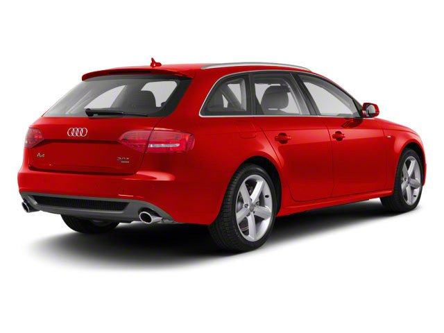 Brilliant Red 2012 Audi A4 Pictures A4 Wagon 4D 2.0T Quattro photos rear view