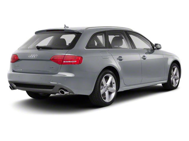 Ice Silver Metallic 2012 Audi A4 Pictures A4 Wagon 4D 2.0T Quattro photos rear view