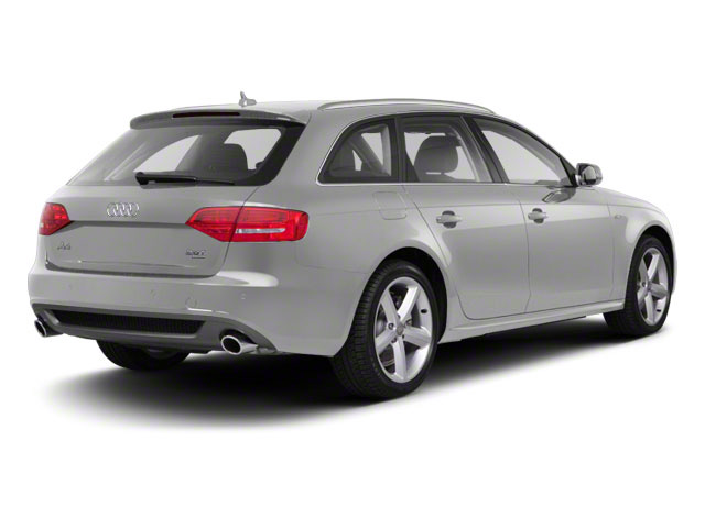 Ibis White 2012 Audi A4 Pictures A4 Wagon 4D 2.0T Quattro photos rear view