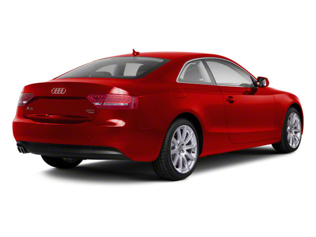 Brilliant Red 2012 Audi A5 Pictures A5 Coupe 2D Quattro photos rear view