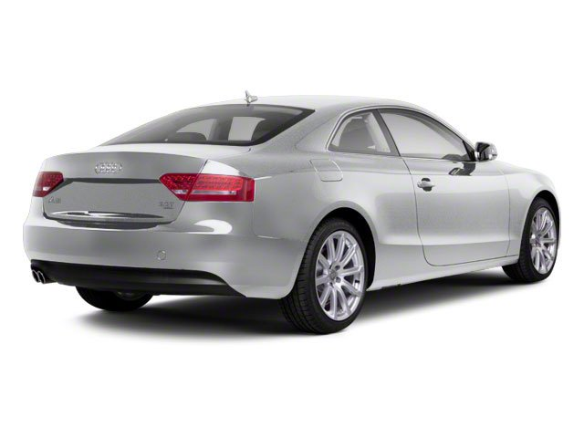 Ice Silver Metallic 2012 Audi A5 Pictures A5 Coupe 2D Quattro Prestige photos rear view