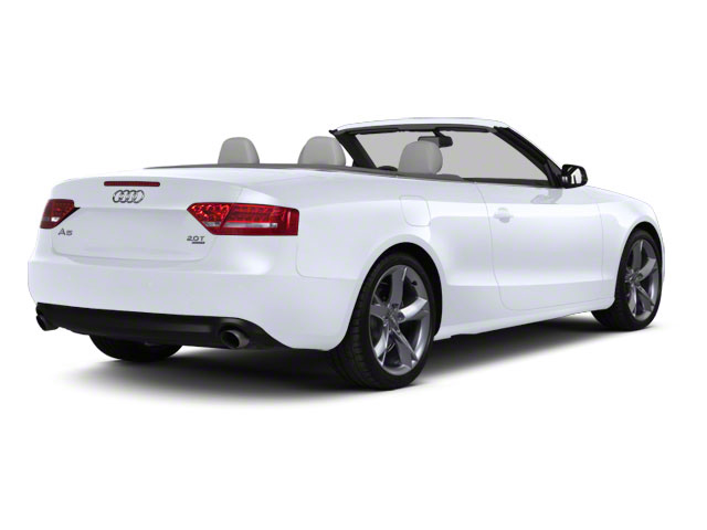 Glacier White Metallic 2012 Audi A5 Pictures A5 Convertible 2D Premium Plus photos rear view