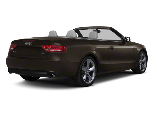 Teak Brown Metallic 2012 Audi A5 Pictures A5 Convertible 2D Premium Plus photos rear view