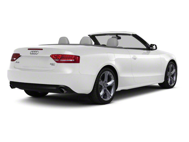 Ibis White 2012 Audi A5 Pictures A5 Convertible 2D Premium Plus photos rear view