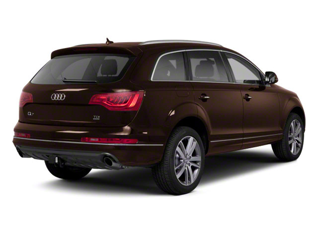 Teak Brown Metallic 2012 Audi Q7 Pictures Q7 Utility 4D 3.0 TDI Prestige S-Line A photos rear view