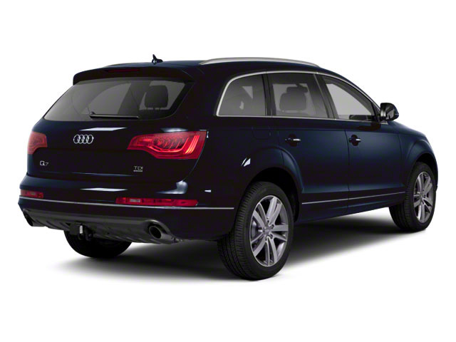 Cobalt Blue Metallic 2012 Audi Q7 Pictures Q7 Utility 4D 3.0 TDI Prestige S-Line A photos rear view