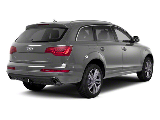 Daytona Gray Pearl Effect 2012 Audi Q7 Pictures Q7 Utility 4D 3.0 TDI Prestige S-Line A photos rear view