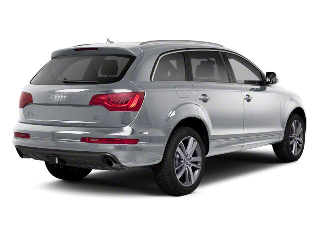 Ice Silver Metallic 2012 Audi Q7 Pictures Q7 Utility 4D 3.0 TDI Prestige S-Line A photos rear view