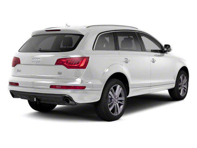 Ibis White 2012 Audi Q7 Pictures Q7 Utility 4D 3.0 TDI Prestige S-Line A photos rear view