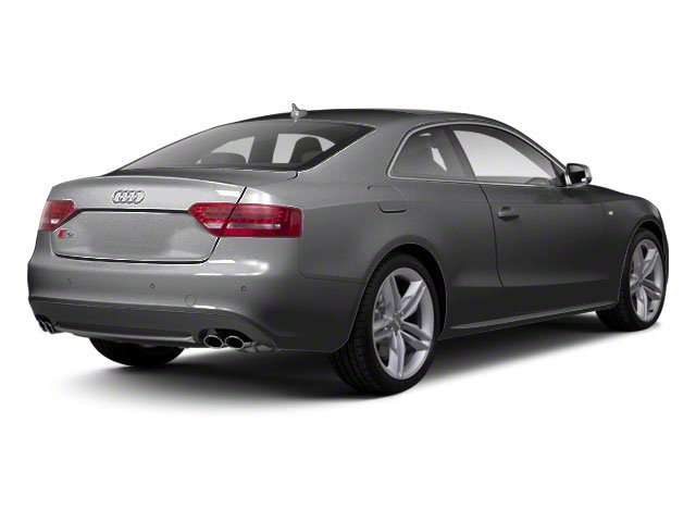 Monsoon Gray Metallic 2012 Audi S5 Pictures S5 Coupe 2D Quattro photos rear view