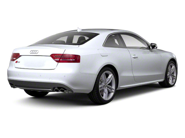 Glacier White Metallic 2012 Audi S5 Pictures S5 Coupe 2D Quattro photos rear view