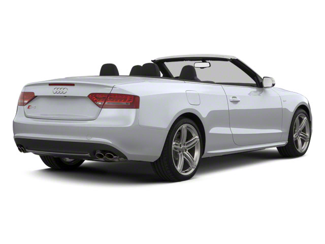 Glacier White Metallic 2012 Audi S5 Pictures S5 Convertible 2D Quattro photos rear view