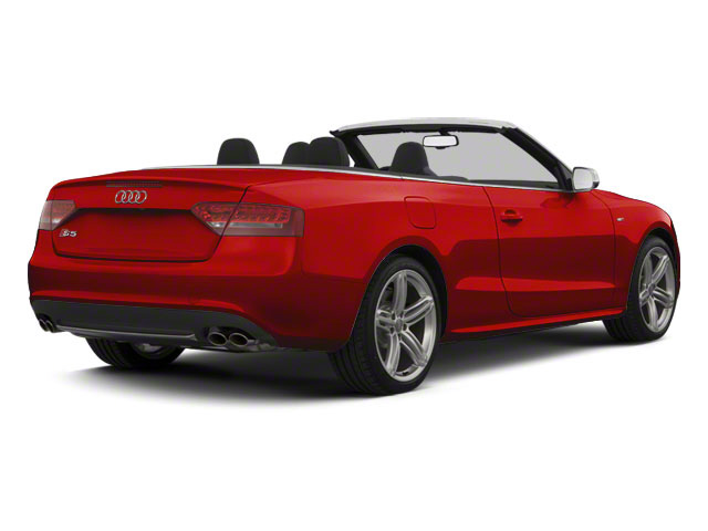 Brilliant Red 2012 Audi S5 Pictures S5 Convertible 2D Quattro photos rear view