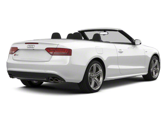 Ibis White 2012 Audi S5 Pictures S5 Convertible 2D Quattro photos rear view