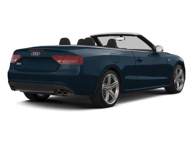 Moonlight Blue Metallic 2012 Audi S5 Pictures S5 Convertible 2D Quattro photos rear view