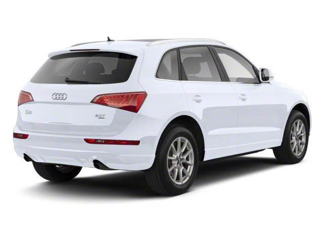 Glacier White Metallic 2012 Audi Q5 Pictures Q5 Utility 4D 2.0T Premium Plus AWD photos rear view