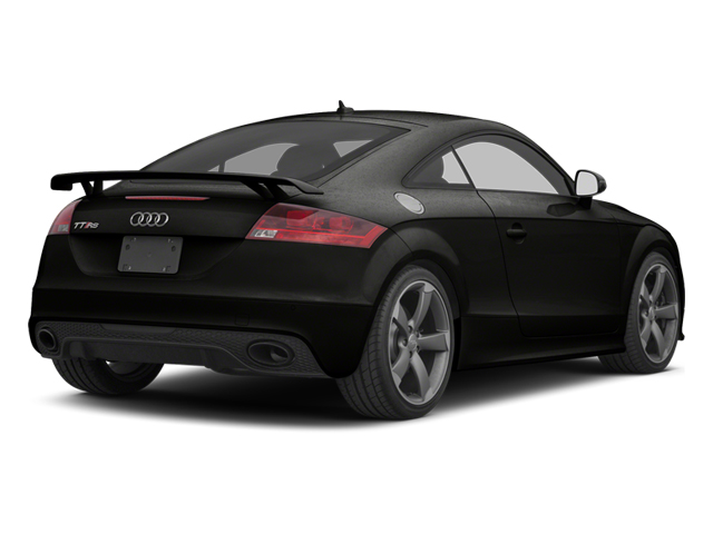 Panther Black Crystal 2012 Audi TT RS Pictures TT RS Coupe 2D Quattro photos rear view