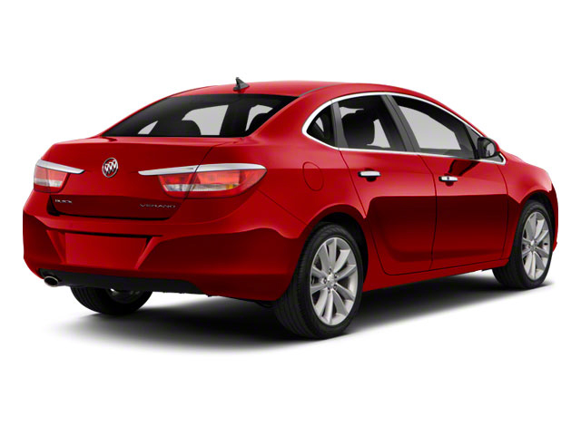 Crystal Red Tintcoat 2012 Buick Verano Pictures Verano Sedan 4D Leather photos rear view