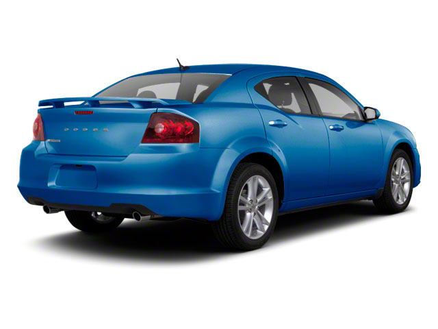 Blue Streak Pearl 2012 Dodge Avenger Pictures Avenger Sedan 4D SXT photos rear view