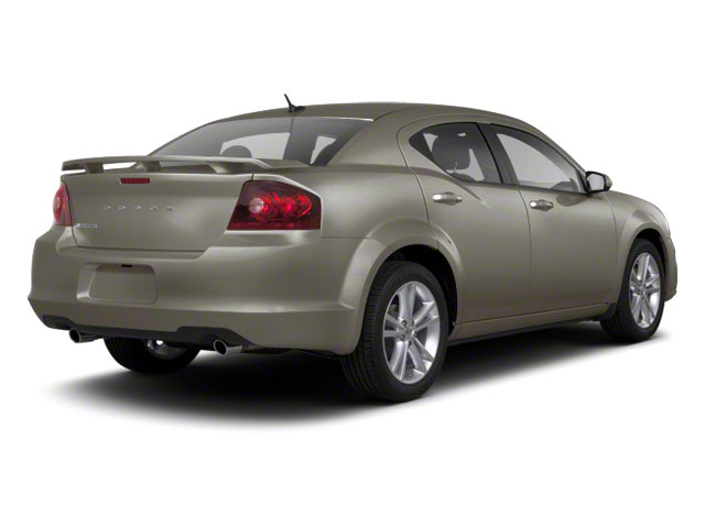 Tungsten Metallic 2012 Dodge Avenger Pictures Avenger Sedan 4D SXT photos rear view