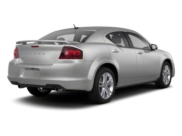 Bright Silver Metallic 2012 Dodge Avenger Pictures Avenger Sedan 4D SXT photos rear view