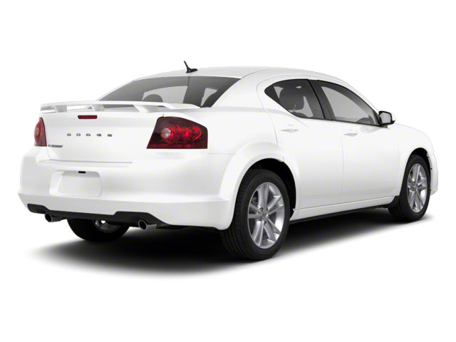 Bright White 2012 Dodge Avenger Pictures Avenger Sedan 4D SXT photos rear view