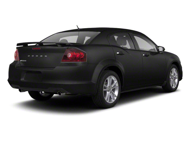 Black 2012 Dodge Avenger Pictures Avenger Sedan 4D SXT photos rear view