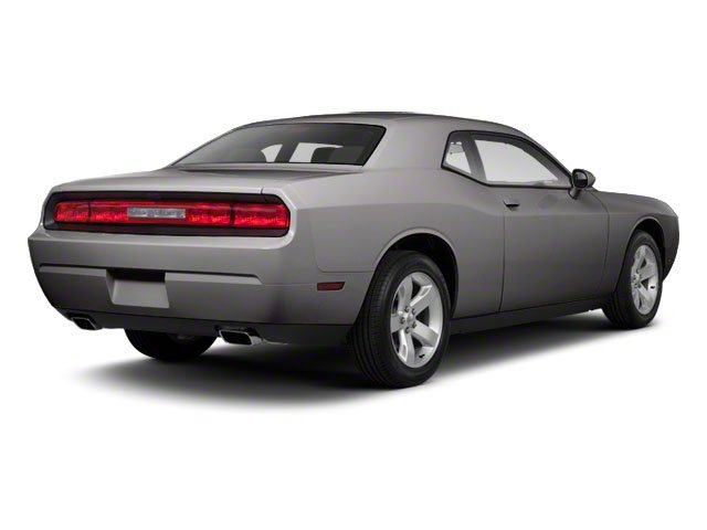 Bright Silver Metallic 2012 Dodge Challenger Pictures Challenger Coupe 2D SRT-8 photos rear view