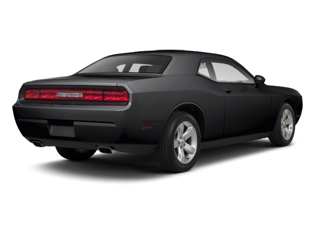 Black 2012 Dodge Challenger Pictures Challenger Coupe 2D SRT-8 photos rear view