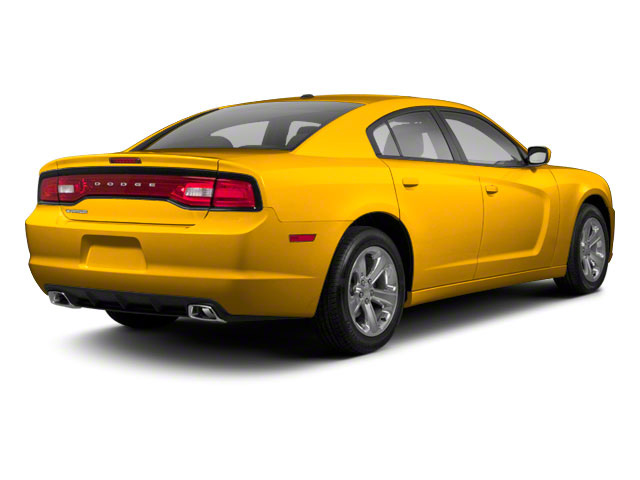 Stinger Yellow 2012 Dodge Charger Pictures Charger Sedan 4D SRT-8 Super Bee photos rear view