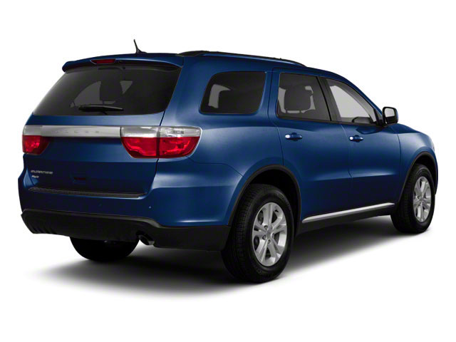 True Blue Pearl 2012 Dodge Durango Pictures Durango Utility 4D Crew AWD photos rear view
